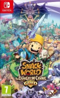 jeu video - The Snack World: Mordus de Donjons - Gold