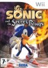 Jeux video - Sonic and the Secret Rings