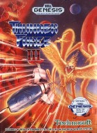 Jeu Video - Thunder Force III