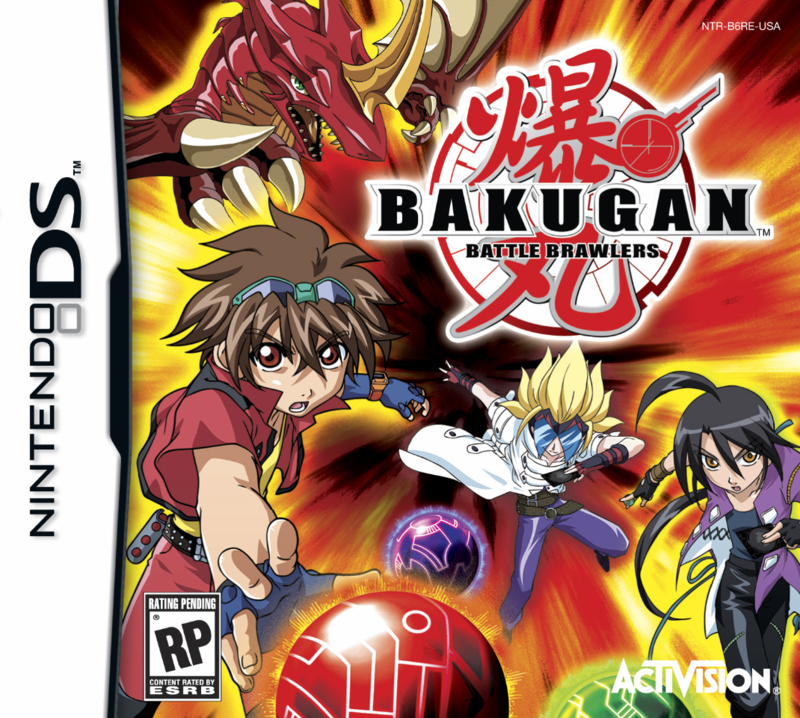 Bakugan Battle Brawlers  dans Roms Pokemon bakugan_nds