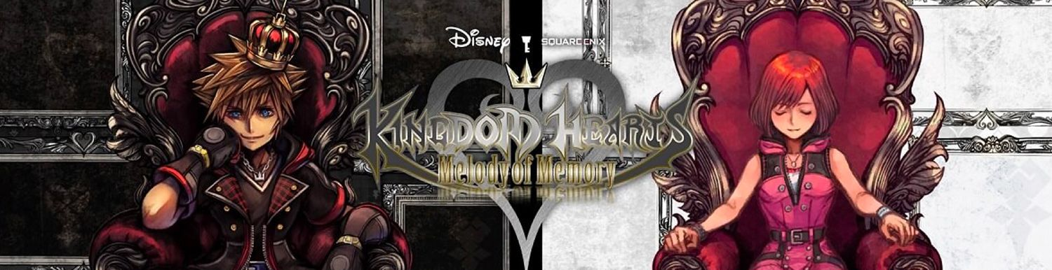 Kingdom Hearts : Melody of Memory - Manga