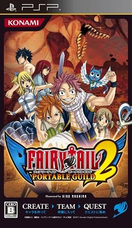 Jeu Vid 233 O Fairy Tail 2 Playstation Portable Psp