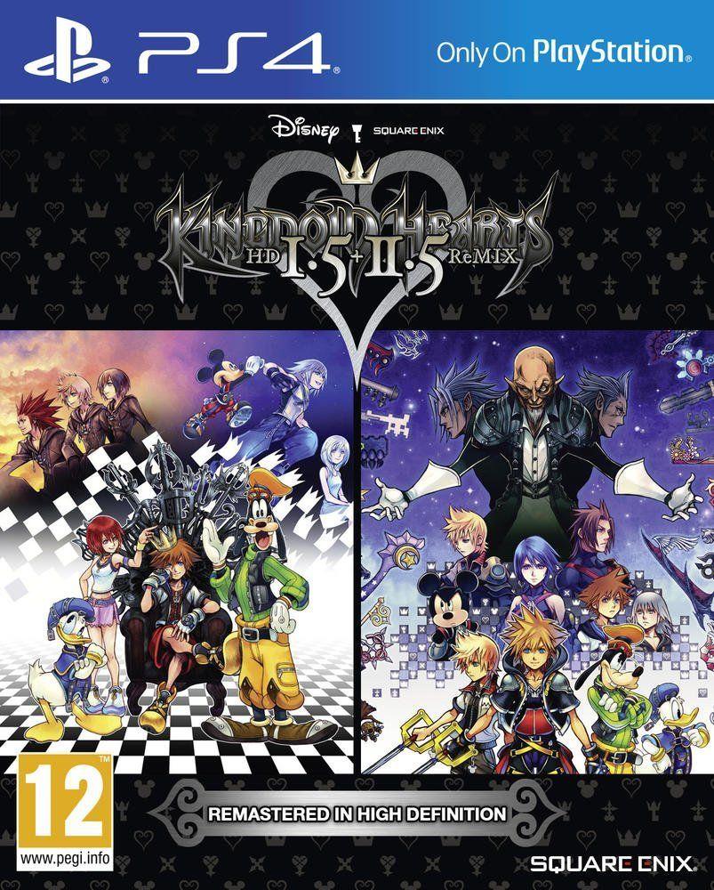 Jeu Vidéo Kingdom Hearts HD 1.5 + 2.5 ReMIX