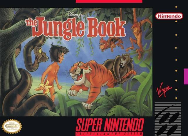 jeu vid o livre de la jungle le super nintendo manga. Black Bedroom Furniture Sets. Home Design Ideas