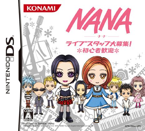 Bien-aimé Jeu vidéo Nana Live Staff Daiboshû! - Nintendo DS - NDS - Manga news NJ21