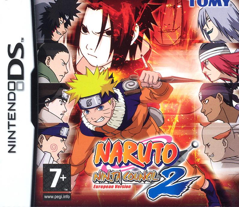 Naruto Ninja Council European Version 2 DS