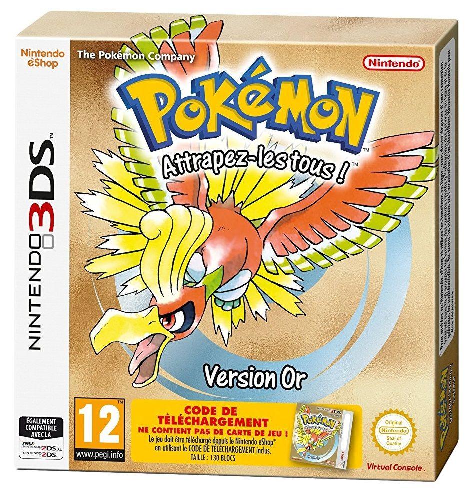 Pok mon or et argent sont disponibles sur 3ds 22 - Jeux info pokemon ...