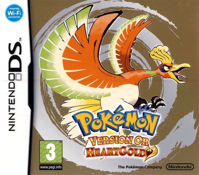 jeu vid o pok mon heartgold version or nintendo ds nds manga news. Black Bedroom Furniture Sets. Home Design Ideas