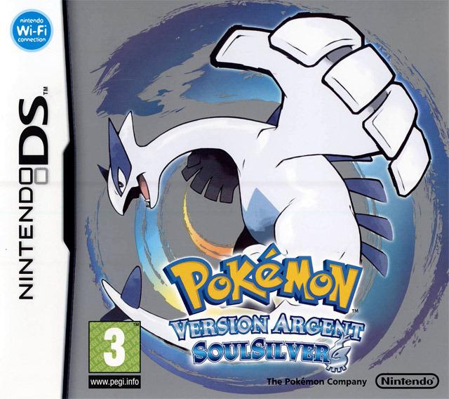 [HF] Pokemon Argent SoulSilver version argent [Nintendo DS]