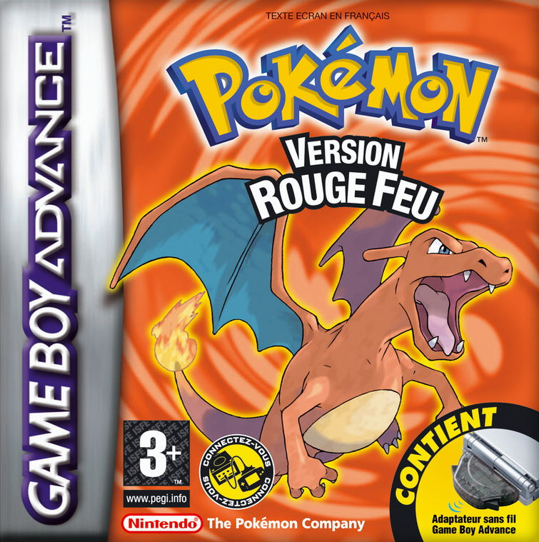 Pokémon Version Rouge Feu GBA