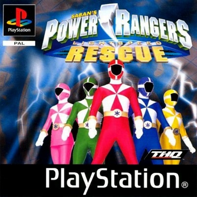 jeu vid o power rangers lightspeed rescue playstation ps1 manga news. Black Bedroom Furniture Sets. Home Design Ideas