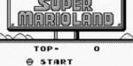 jeux video - Super Mario Land