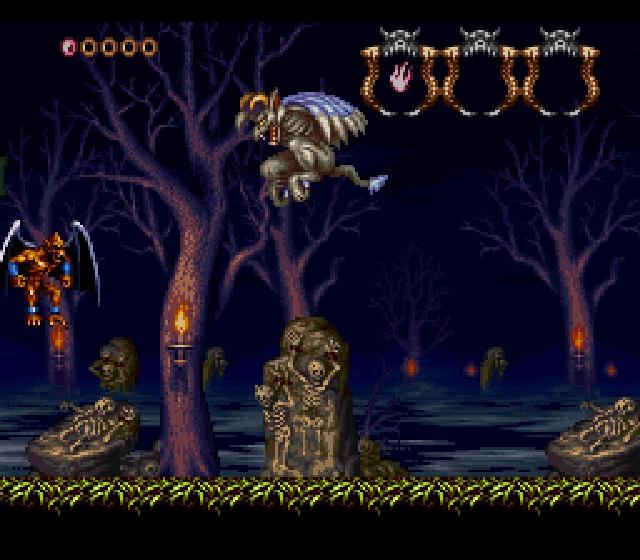 Quels jeux Action - Aventure me conseilleriez-vous ? (Nes - Snes -Sega MS - MegaDrive - Saturn) Demon-s-crest-snes-1
