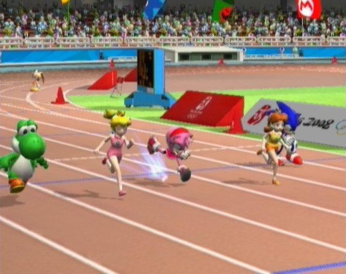 Jeu vid o mario et sonic aux jeux olympiques wii manga - Jeux super sonic gratuit ...