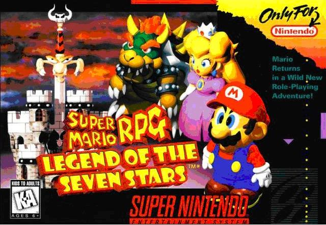 jeux video - Super Mario RPG - Legend of the Seven Stars