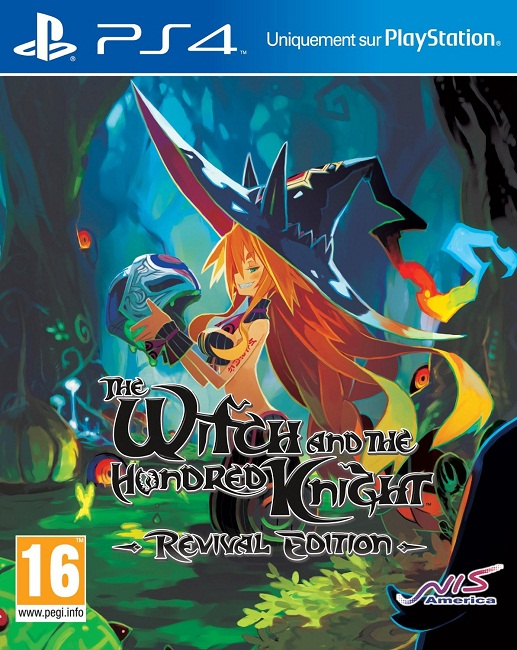 jeu vid o the witch and the hundred knights revival edition playstation 4 ps4 manga news. Black Bedroom Furniture Sets. Home Design Ideas