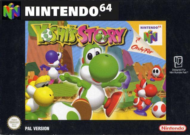 jeux video - Yoshi's Story