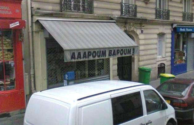 Aaapoum Bapoum - Paris V