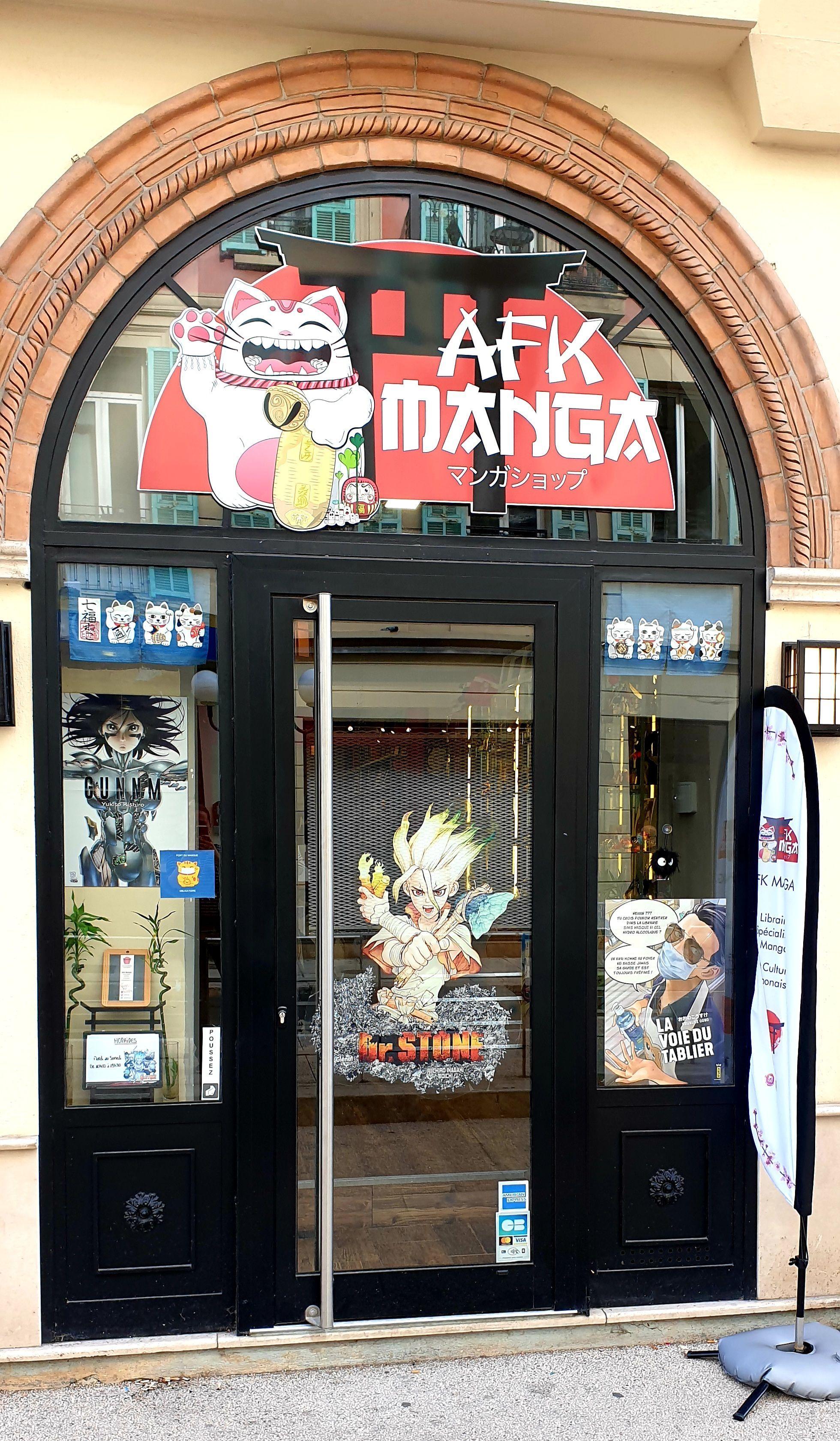 Librairie manga - AFK Manga
