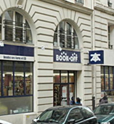 Book Off - Paris Opéra