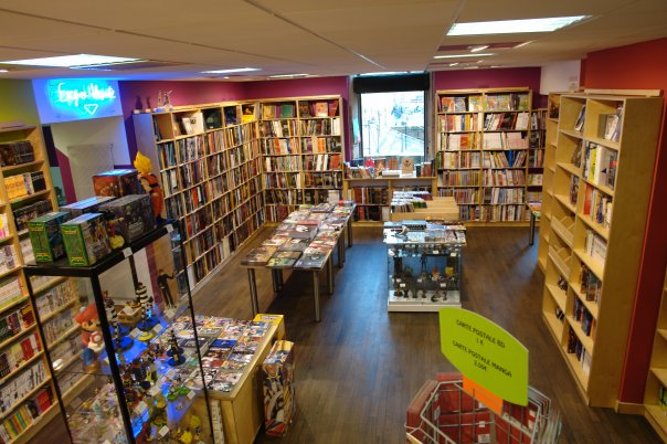 Hisler bd librairie metz manga news for Adresse metz expo