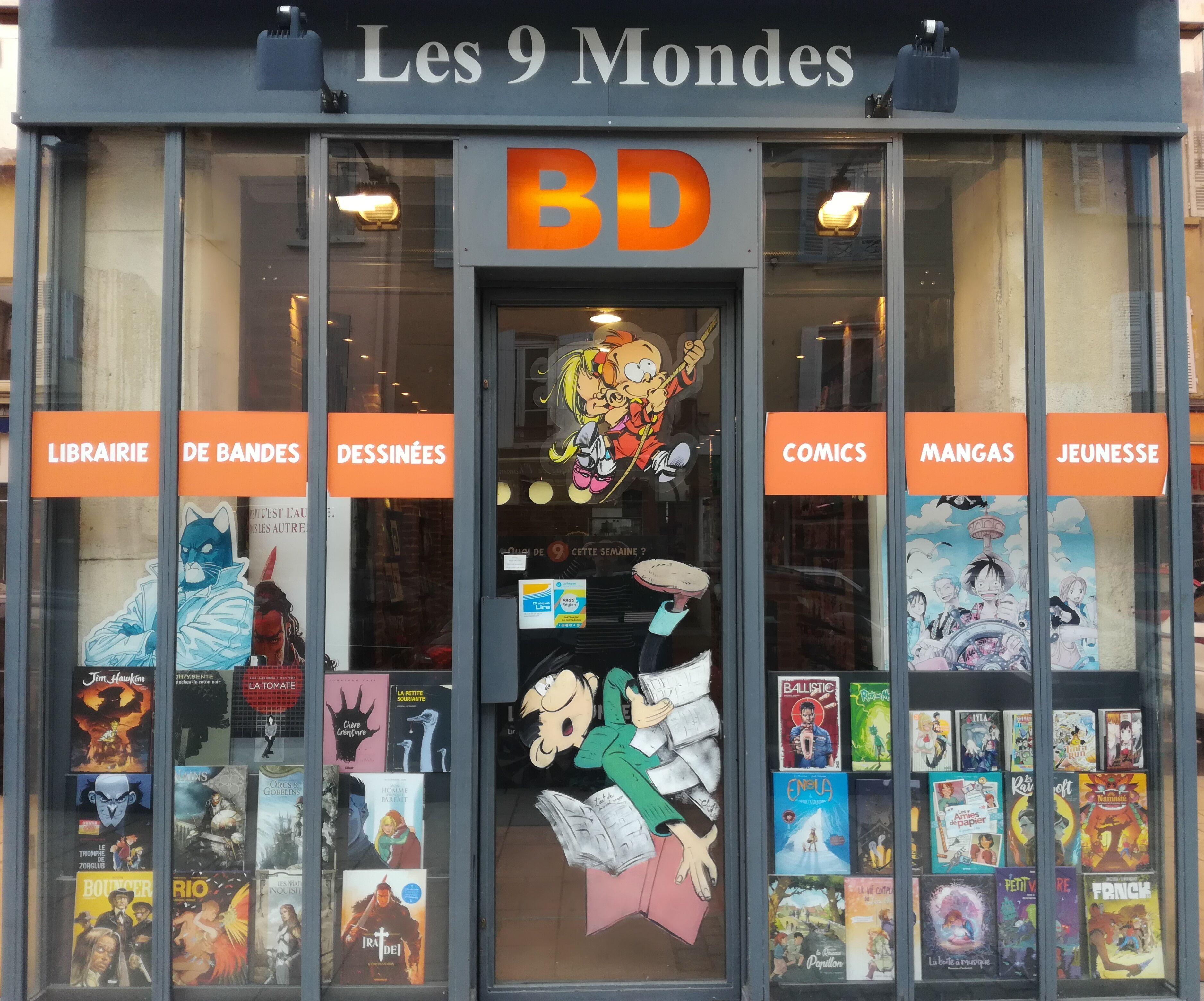 Librairie manga - Les 9 Mondes