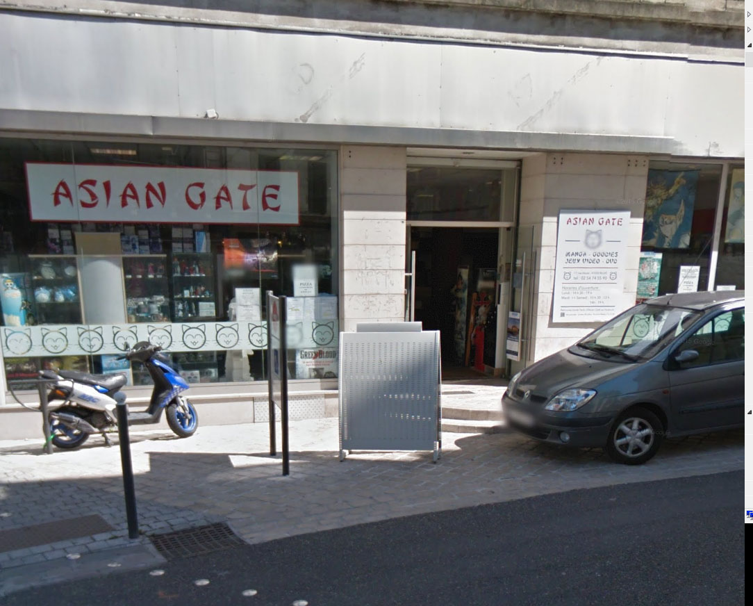 Librairie manga - Asian Gate