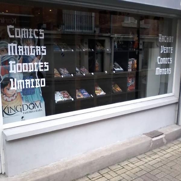 La librairie des otakus