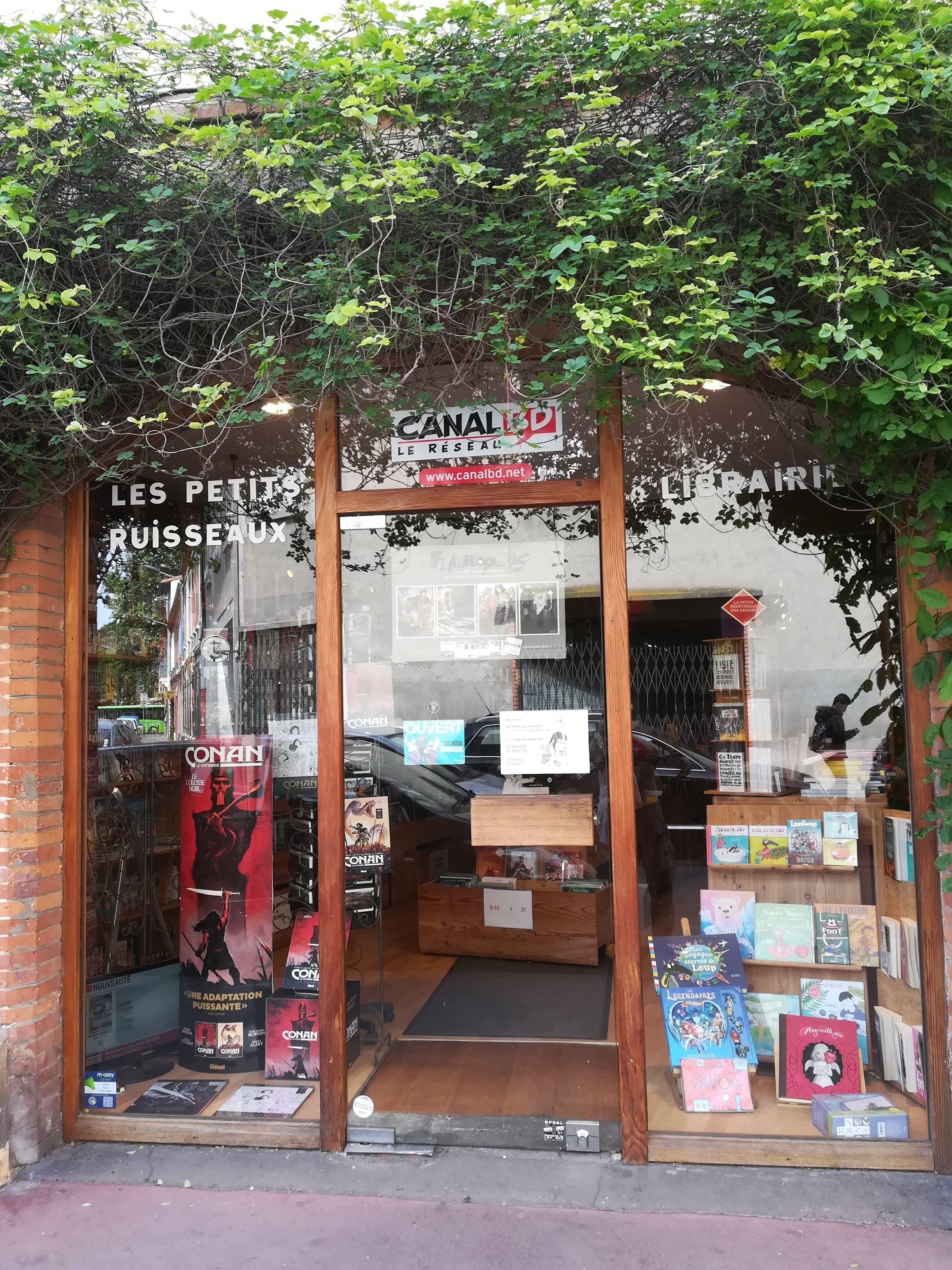 Librairie manga - Librairie Les Petits Ruisseaux