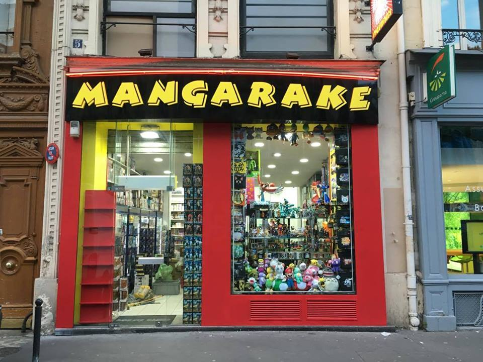 Librairie manga - Mangarake