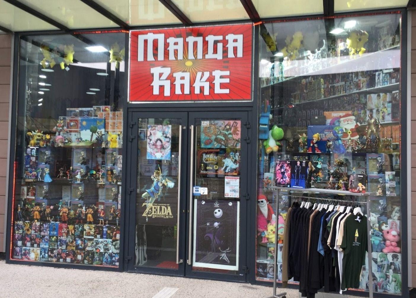 Librairie manga - Mangarake Saint-Mard