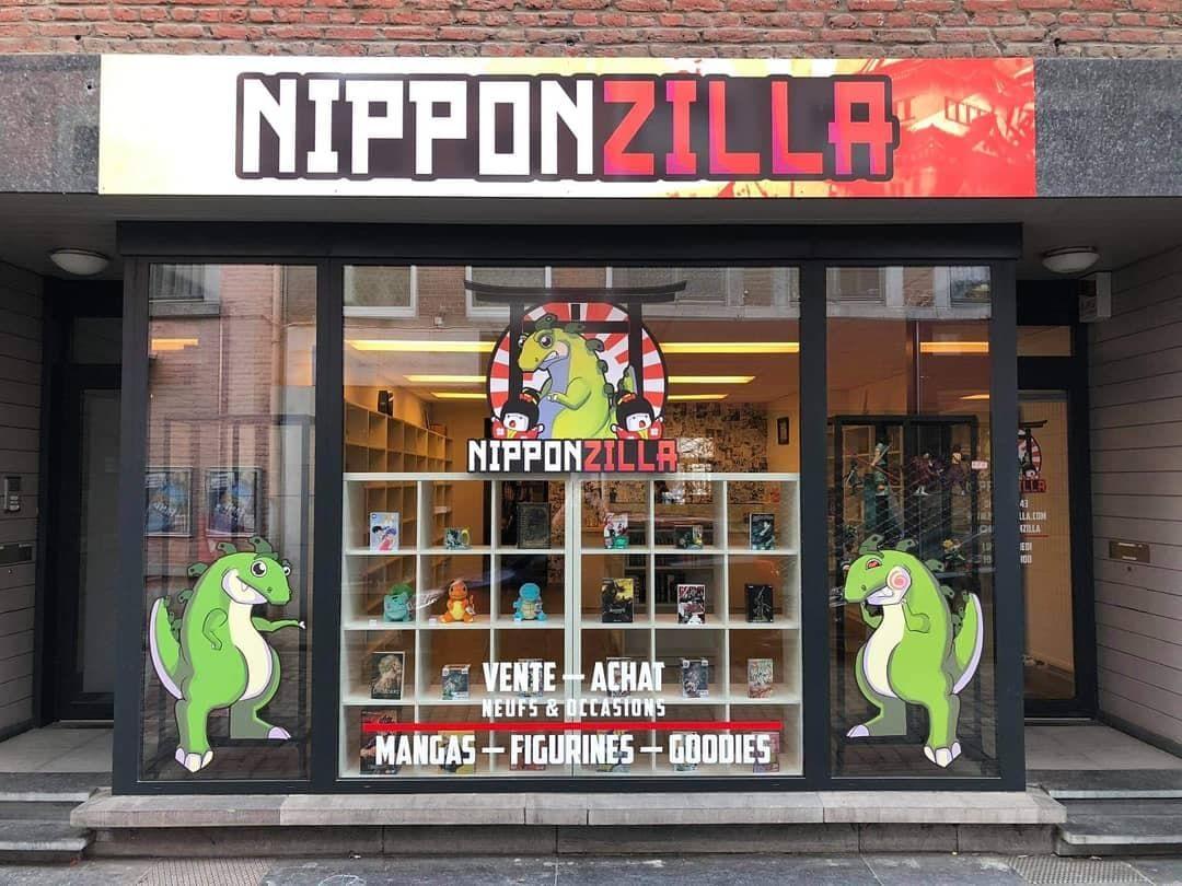 Librairie manga - Nipponzilla