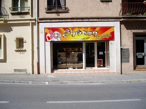 Shoten manga librairie salon de provence manga news for Cinema salon provence