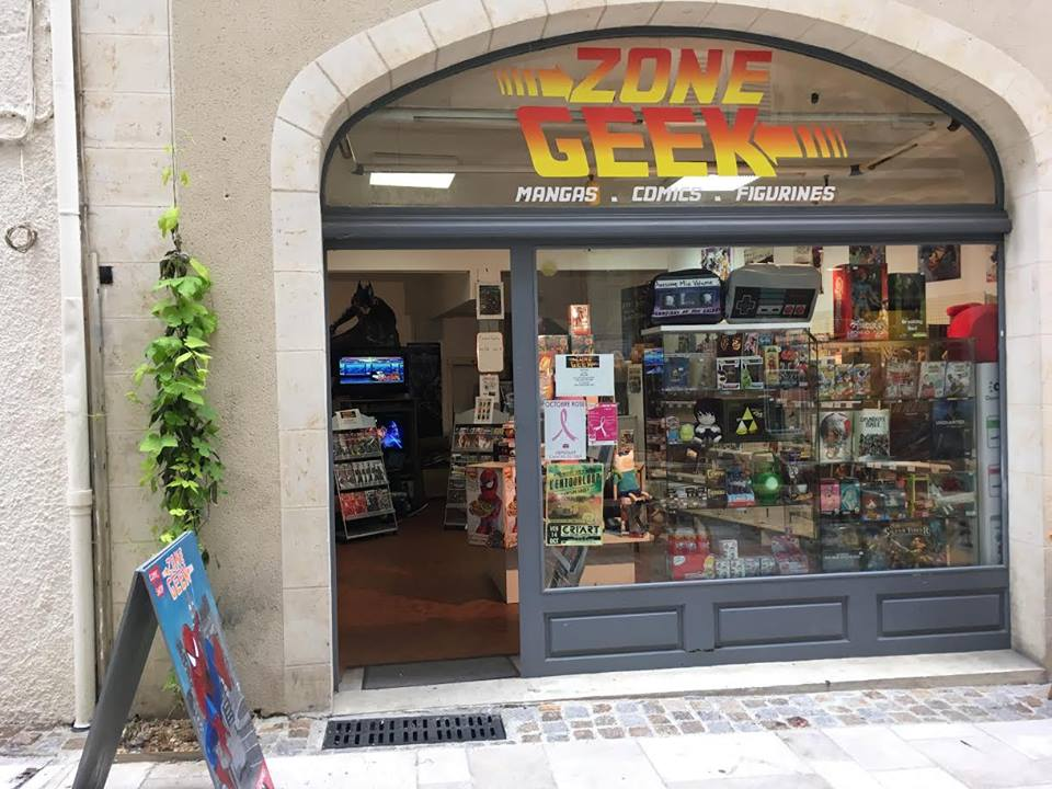 Librairie manga - Zone Geek