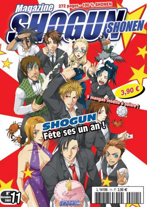 Mangas - Shogun Magazine