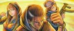 Rencontre avec Maître Gims, Darcy, Jean-David Morvan et Yoshiyasu Tamura pour Devils Relics