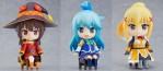 Les héroïnes de Konosuba dans la gamme Nendoroid Swacchao!