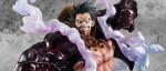 manga - Luffy laisse éclater son Gear 4 chez Megahouse