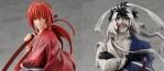 Kenshin Himura et Makoto Shishio arrivent dans la gamme Pop Up Parade