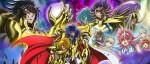 La série animée Saint Seiya - Saintia Shô datée au Japon