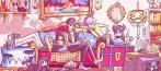manga - Yasuraka Monsters, nouvelle série de Shûji Takeya