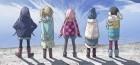 Un premier trailer pour l'anime Yurucamp