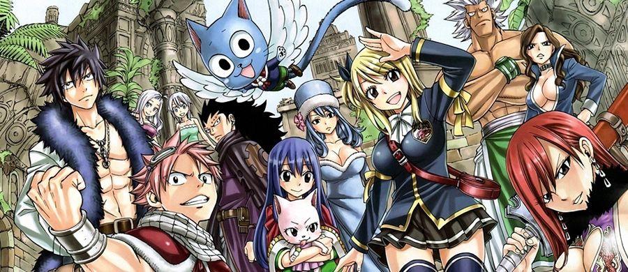 Fairy Tail arrive en grand format chez Hachette