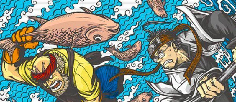 Ichtyophobia, nouvelle série des éditions Nazca
