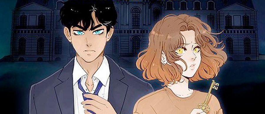 manga - Webtoon - 1er chapitre  - Château d'Ambre