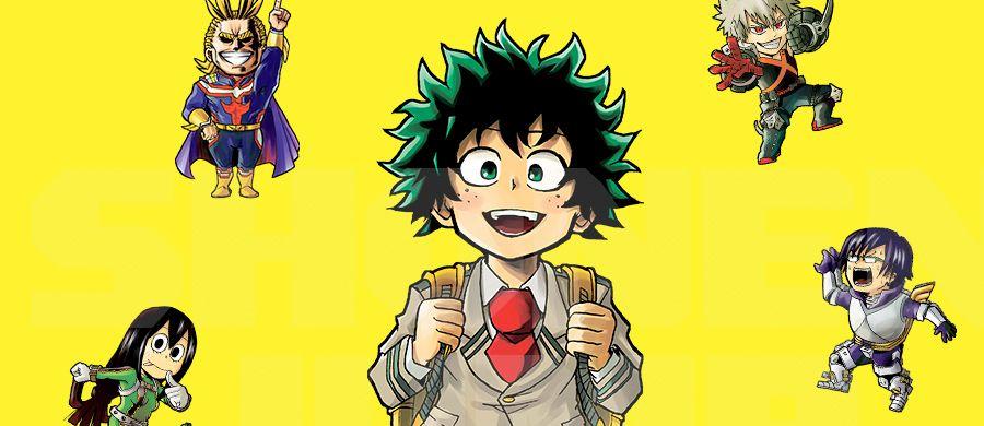 My Hero Academia Smash, nouveau spin-off de My Hero Academia chez Ki-oon