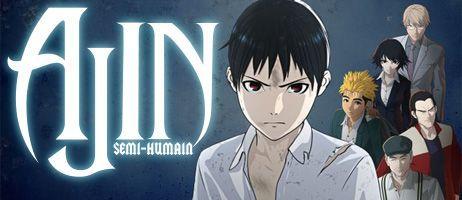 La saison 2 d'Ajin en DVD et Blu-ray chez Kana