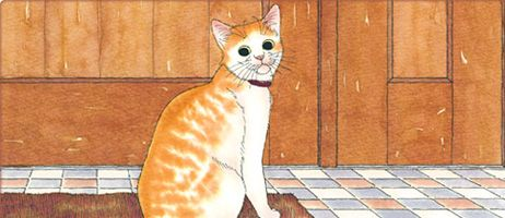 manga - Page finale pour Carnets de Chats de Yumi Ikefuji