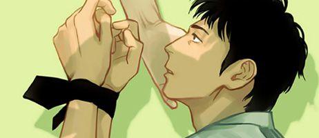 Taifu annonce le boy's love Un démon au paradis - Oni to Tengoku