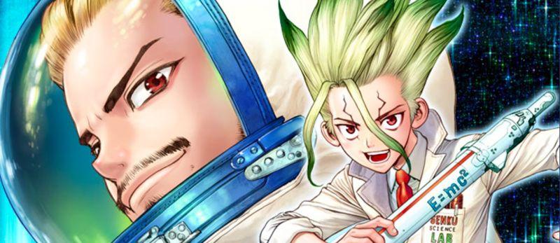 Le manga Dr. Stone - Reboot: Byakuya arrive chez Glénat